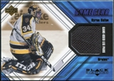 2000/01 Upper Deck Black Diamond Game Gear #LAU Jean-Sebastien Aubin Pad Upd