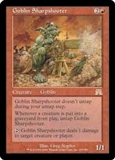 Magic the Gathering Onslaught Single Goblin Sharpshooter - SLIGHT PLAY (SP)