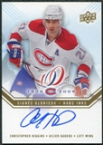 2008/09 Upper Deck Montreal Canadiens Centennial Habs INKS #HABSHI Christopher Higgins Autograph