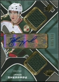 2007/08 Upper Deck SPx #217 James Sheppard RC Jersey Autograph /999