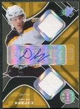 2007/08 Upper Deck SPx Spectrum #205 David Krejci RC Jersey Autograph 9/25