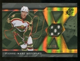 2007/08 Upper Deck SPx Spectrum #31 Pierre-Marc Bouchard Jersey /25