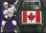 2009/10 Upper Deck UD Black Pride of a Nation Patches Autographs #PNDD Drew Doughty Autograph 2/35