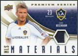 2010 Upper Deck MLS Materials Premium Series Patch #DB David Beckham /35