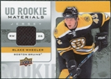 2008/09 Upper Deck Rookie Materials #RMBW Blake Wheeler