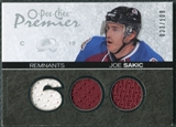 2007/08 Upper Deck OPC Premier Remnants Triples #PRJO Joe Sakic /100