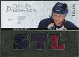 2007/08 Upper Deck OPC Premier Remnants Triples #PRPK Paul Kariya /100