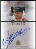 2000 Upper Deck SP Authentic Sign of the Times #WD Wally Dallenbach Autograph