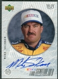 1999 Upper Deck Road to the Cup Signature Collection Checkered Flag #MS Mike Skinner Autograph
