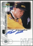 1999 Upper Deck ProSign #MKR Matt Kenseth Silver Autograph