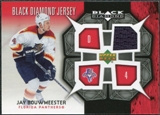 2007/08 Upper Deck Black Diamond Jerseys #BDJJB Jay Bouwmeester