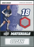 2008 Upper Deck MLS Materials #MM2 Brad Guzan