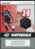 2008 Upper Deck MLS Materials #MM3 Ben Olsen