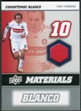 2008 Upper Deck MLS Materials #MM4 Cuauhtemoc Blanco