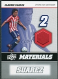 2008 Upper Deck MLS Materials #MM5 Claudio Suarez