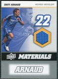 2008 Upper Deck MLS Materials #MM6 Davy Arnaud