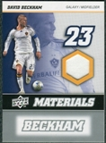 2008 Upper Deck MLS Materials #MM7 David Beckham