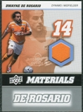 2008 Upper Deck MLS Materials #MM8 Dwayne De Rosario