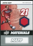 2008 Upper Deck MLS Materials #MM14 Justin Mapp