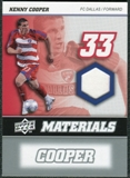 2008 Upper Deck MLS Materials #MM17 Kenny Cooper