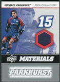 2008 Upper Deck MLS Materials #MM23 Michael Parkhurst