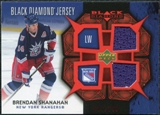 2007/08 Upper Deck Black Diamond Jerseys Ruby Dual #BDJSH Brendan Shanahan /100