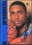 1997/98 Upper Deck SP Authentic BuyBack #1 Shareef Abdur-Rahim 96-7 Autograph /192