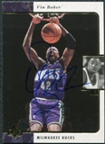 1997/98 Upper Deck SP Authentic BuyBack #3 Vin Baker 95-6 Autograph /71