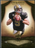 2009 Upper Deck Exquisite Collection #5 Drew Brees /80