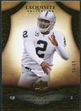 2009 Upper Deck Exquisite Collection #42 JaMarcus Russell /80