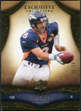 2009 Upper Deck Exquisite Collection #72 Kyle Orton /80