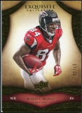 2009 Upper Deck Exquisite Collection #77 Roddy White /80