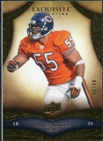 2009 Upper Deck Exquisite Collection #83 Lance Briggs /80