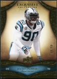 2009 Upper Deck Exquisite Collection #90 Julius Peppers /80