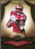 2009 Upper Deck Exquisite Collection #92 Vernon Davis /80