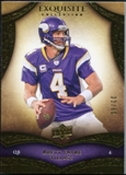 2009 Upper Deck Exquisite Collection #100 Brett Favre /80