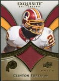 2009 Upper Deck Exquisite Collection Patch Gold #PCP Clinton Portis /40