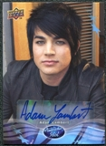 2009 Upper Deck American Idol Season Eight Autographs #AL Adam Lambert Autograph