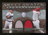 2009 Upper Deck Sweet Spot Swatches Dual #GJ Ken Griffey Jr. Derek Jeter