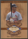 2001 SP Game Bat Milestone #IAP Albert Pujols Piece of Action International Bat