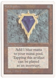 Magic the Gathering Unlimited Single Mox Sapphire MODERATE PLAY (VG/EX)