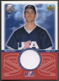2002 Sweet Spot #MP Mark Prior USA Jersey