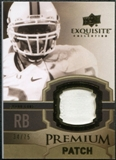 2010 Upper Deck Exquisite Collection Premium Patch #EPPFG Frank Gore /75