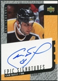 2000/01 Upper Deck Legends Epic Signatures #CN Cam Neely Autograph
