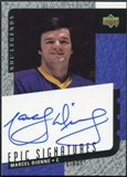 2000/01 Upper Deck Legends Epic Signatures #MD Marcel Dionne Autograph