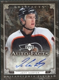 2006/07 Upper Deck Artifacts Autofacts #AFCA Jeff Carter Autograph