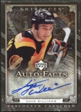 2006/07 Upper Deck Artifacts Autofacts #AFWI Tiger Williams Autograph