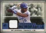 2008 Upper Deck SP Legendary Cuts Legendary Memorabilia Dark Blue Parallel #BJ Bo Jackson /25