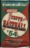 2003 Topps Heritage Baseball 24 Ct. Retail Pack Lot