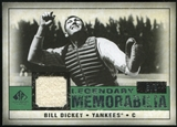2008 Upper Deck SP Legendary Cuts Legendary Memorabilia Dark Green #BD Bill Dickey /8
